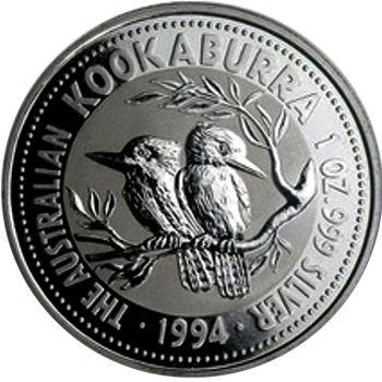 1994 silver kookaburra
