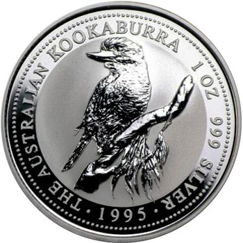 1995 silver kookaburra