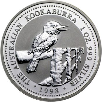 1998 silver kookaburra