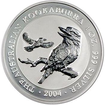 2004 silver kookaburra