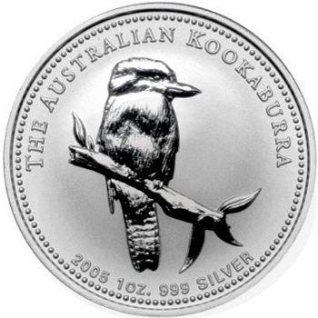 2005 silver kookaburra