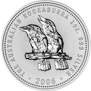 2006 silver kookaburra