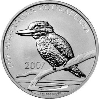 2007 silver kookaburra