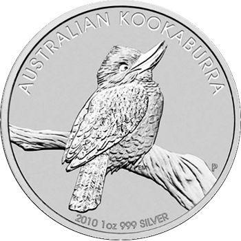 2010 silver kookaburra