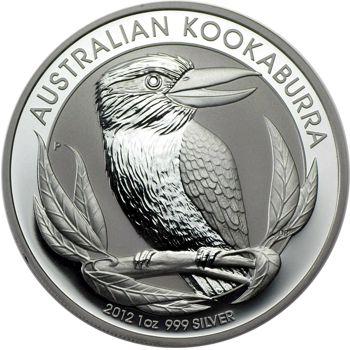 2012 silver kookaburra
