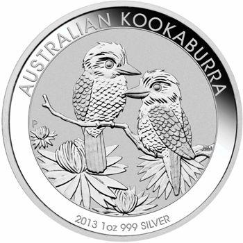 2013 silver kookaburra