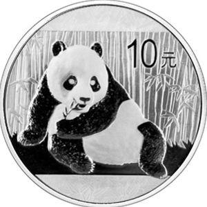 2015 1oz silver panda
