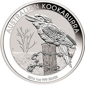 2016 silver kookaburra