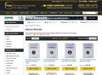BGASC graded coins