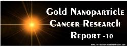 Gold Nanoparticle Cancer Research Report