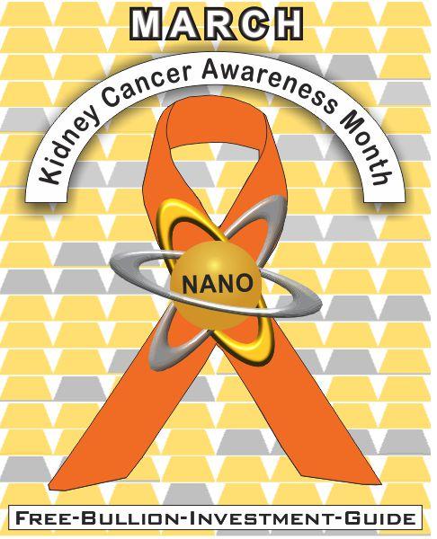 march kidney cancer gold nano ribbon