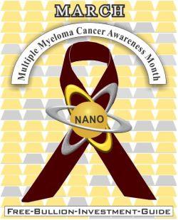 march multiple myeloma cancer gold nano ribbon