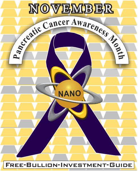 november pancreatic cancer gold nano ribbon