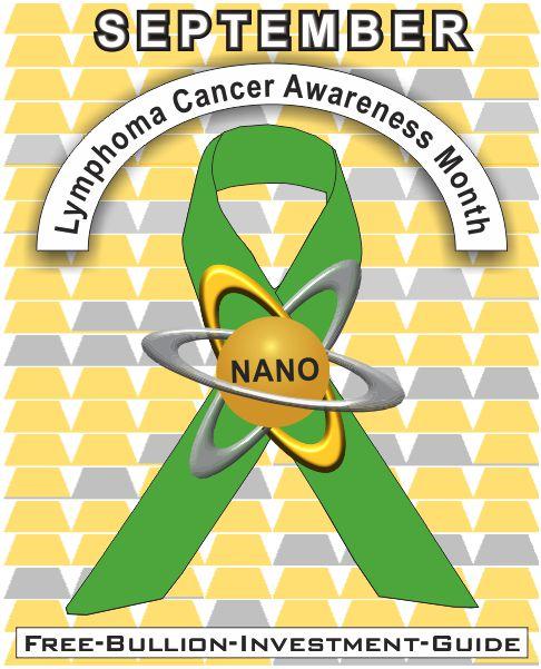 september lymphoma cancer gold nano ribbon