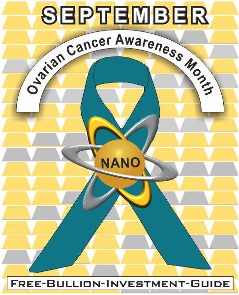 september ovarian cancer gold nano ribbon