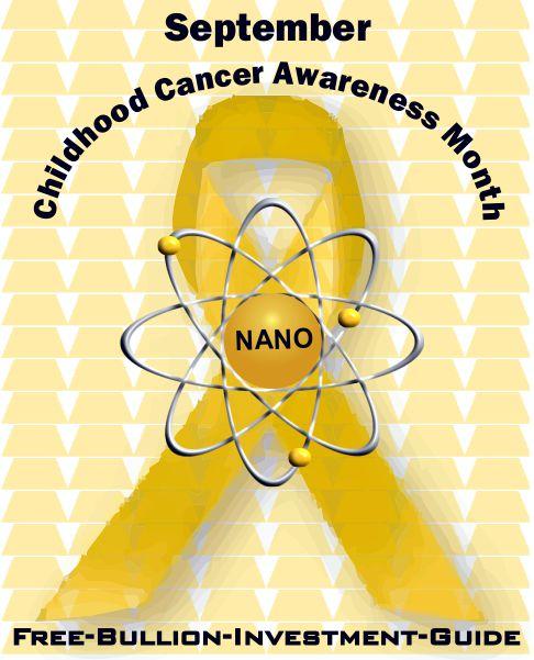 childhood cancer gold nano ribbon