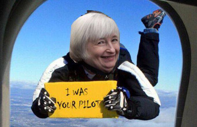 Yellen - I was your pilot