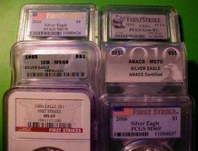 graded bullion coins