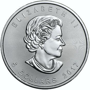 silver maple leaf obv