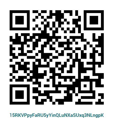 bitcoin donation - QR Code