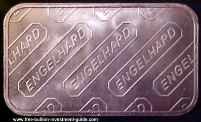 engelhard silver bar rev