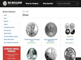 sd bullion silver page