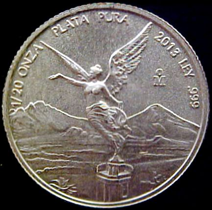 twentieth oz silver libertad rev
