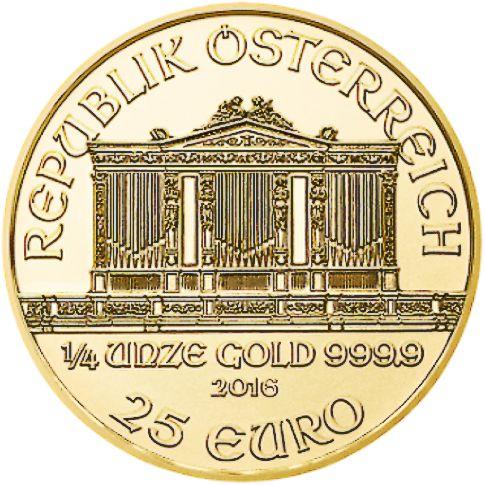 quarter oz gold