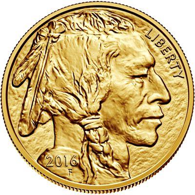 1oz american buffalo gold bullion coin obv