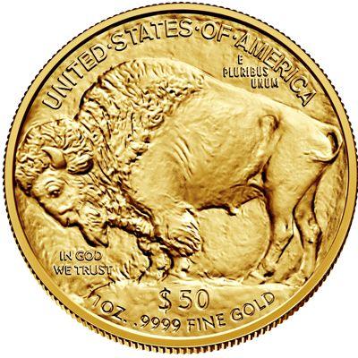 1oz american buffalo gold bullion coin rev
