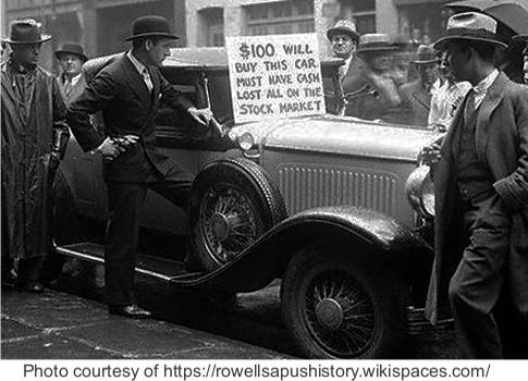 1929 wallstreet crash