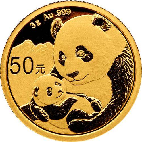 gold panda bullion coin