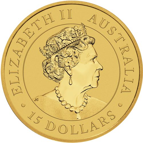 1/10th oz. Australian Gold Kangaroo - Obverse