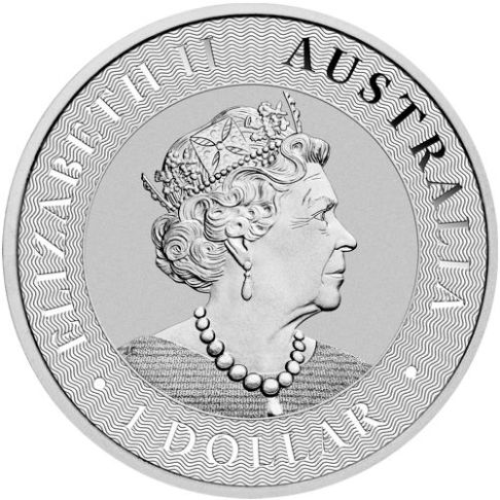 1oz silver kangaroo