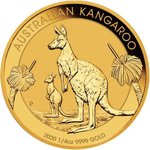 1/4oz. Australian Gold Kangaroo - Reverse