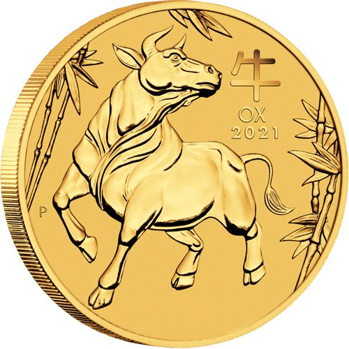 gold lunar coin