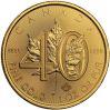 40th Anniv. Gold Maple Leaf