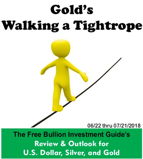 Gold's Walking a Tightrope