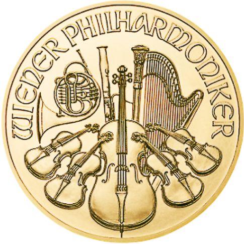gold philharmonic reverse