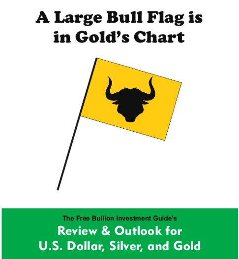 A Large Bull Flag is in Gold's Chart