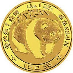 1983 chinese gold panda