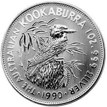 1990 silver kookaburra