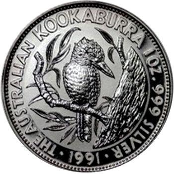 1991 silver kookaburra