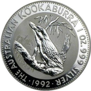 1992 silver kookaburra