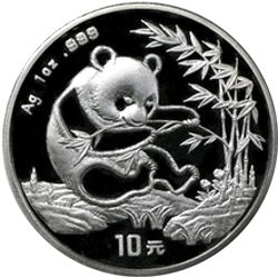 1994 chinese silver panda