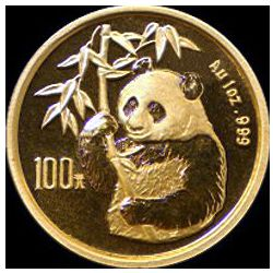 1995 chinese gold panda