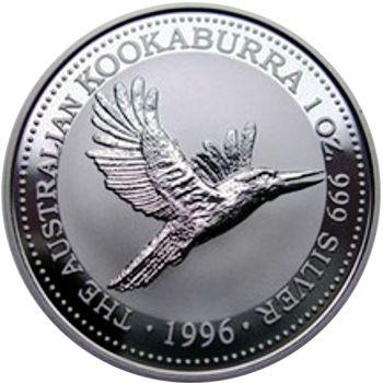 1996 silver kookaburra