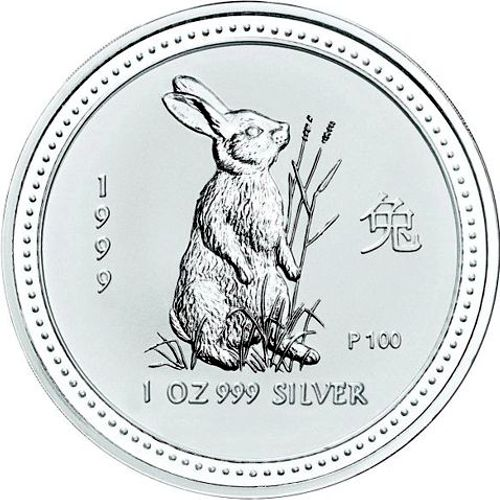 1999 series 1 - silver lunar rabbit