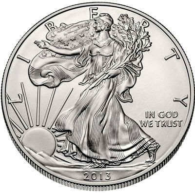 1 Oz American Eagle Silver Bullion Coin