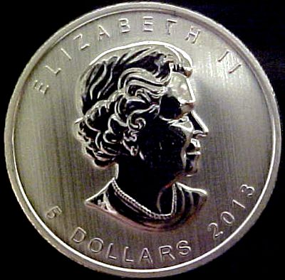 Canadian Silver Maple Leaf Bullion Coin